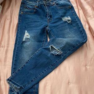 COTTON ON mid grazer skinny jeans